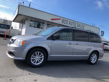2013 DODGE GRAND CARAVAN SXT Edition, Full Stow n Go with Tailgate Seating