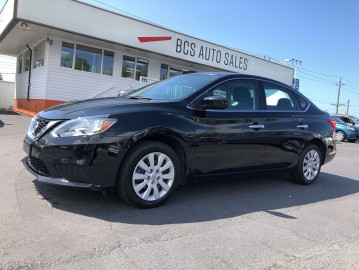 2017 NISSAN SENTRA Select Eco and Sport Drive Modes, Bluetooth, Clean