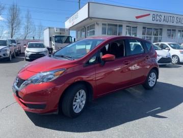 2019 NISSAN VERSA NOTE SV Edition, Bluetooth, Traction Control, Low Kms