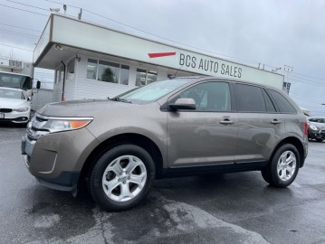 2014 FORD EDGE SEL Edition, No Accidents, Radar Assist Parking