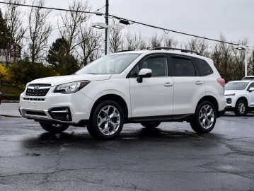 2018 SUBARU FORESTER Limited AWD, GPS Navigation, Leather, Sunroof