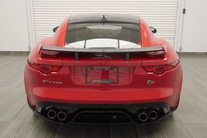 2017 JAGUAR F-TYPE SVR AWD!