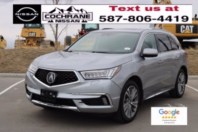 2017 ACURA MDX Elite Pkg - ONE OWNER, NO ACCIDENTS, LOW KM, REAR ENTERTAINMENT SYSTEM, HEATED AND VENTED SEATS