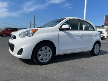 2017 NISSAN MICRA No Accidents, Low Mileage, Bluetooth, Automatic