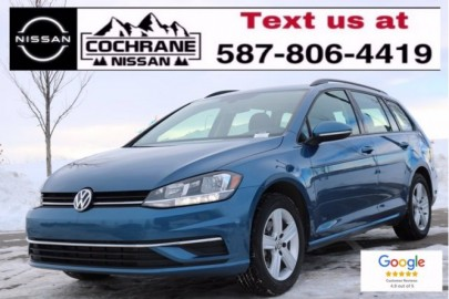2019 VOLKSWAGEN GOLF SPORTWAGEN Comfortline - NO ACCIDENTS, AWD, BRAND NEW TIRES AND BRAKES, HEATED SEATS, APPLE CAR PLAY