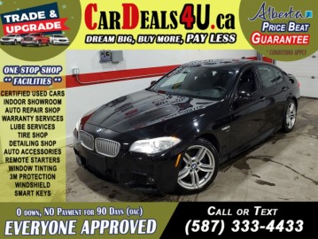 2011 BMW 5-Series 550i XDrive M Package   B.Cam   HTD & Cooled Seats