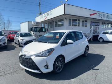 2019 TOYOTA YARIS SE Edition, One Owner, No Accidents, Low Kms